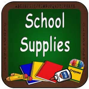 School Supply Lists/Lista de Utiles